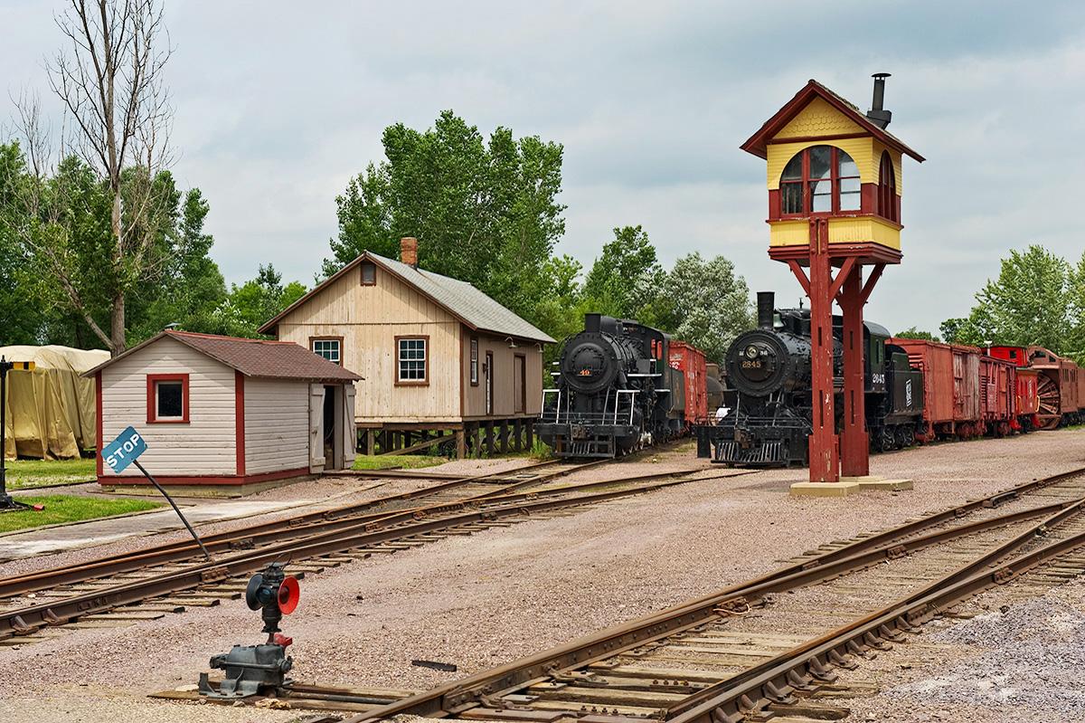 Train Yard by Cindy Flood in Cindy Flood