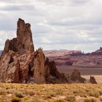 Church Rock Pano by Terry