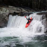 Baby Falls Kayak by Mark Gowin