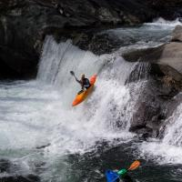 Baby Falls Kayak Spectators by Mark Gowin in Regular Member Gallery