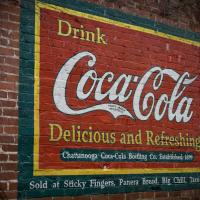 Coca Cola At Sticky Fingers by Mark Gowin