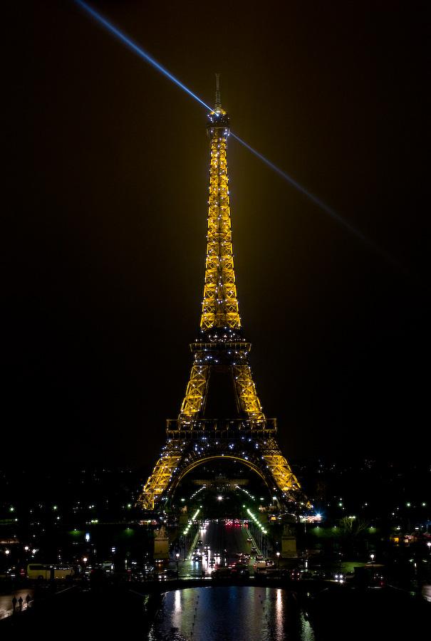 Eiffeltower Night From Trocadero by Mark Gowin in Regular Member Gallery