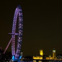 London Eye At Night by Mark Gowin in Regular Member Gallery