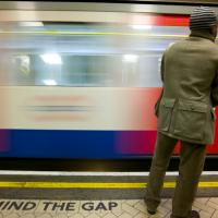 Mind The Gap - Train Approaching by Mark Gowin in Regular Member Gallery