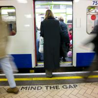 Mind The Gap - All Aboard by Mark Gowin