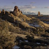 Arches National Park by Woody Campbell in Woody Campbell