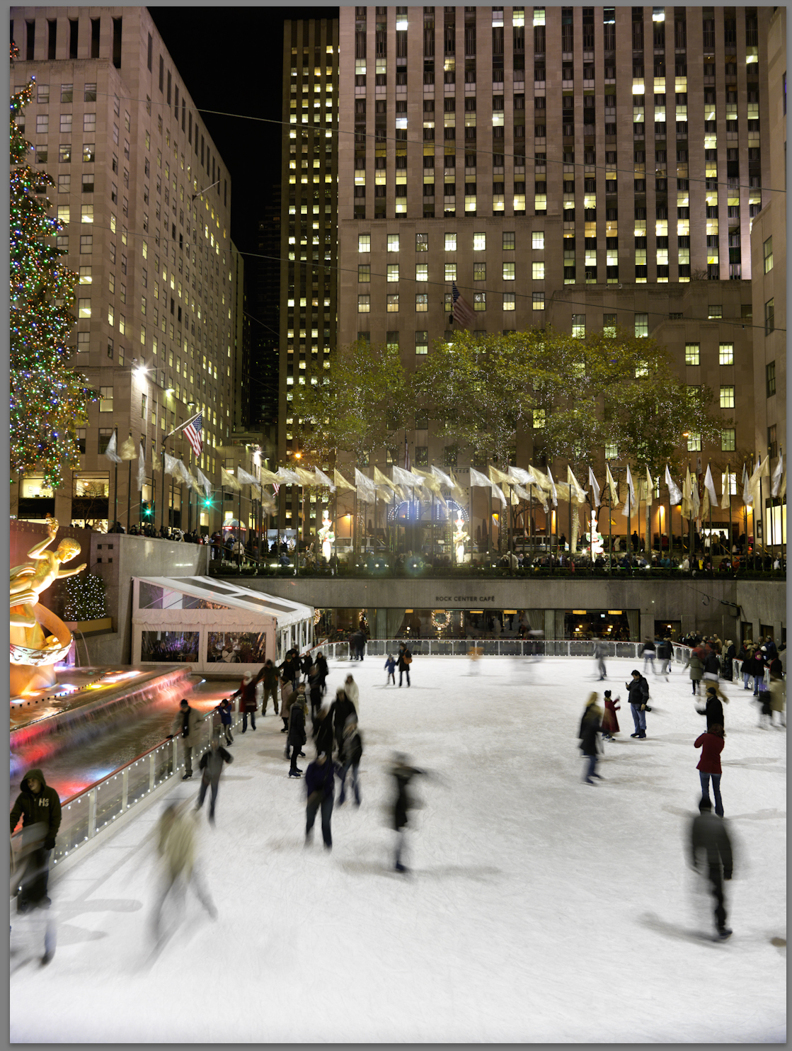 Rock Center Full by Woody Campbell in Woody Campbell