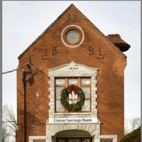Union Savings Bank by Woody Campbell in Woody Campbell