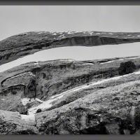 Landscape Arch In Monochrome by Wayne Fox in Regular Member Gallery