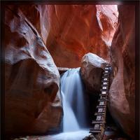 Kanarraville Falls by Wayne Fox