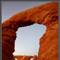 Arches Alien by Wayne Fox