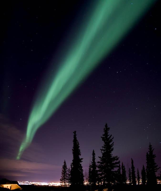Aurora Borealis by bradhusick in bradhusick