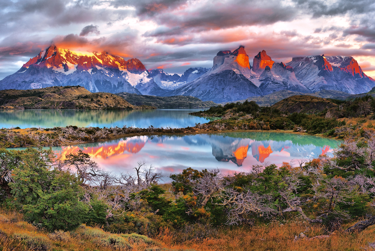 SUNRISE ON THE TORRES MASSIF by Charles Wood in Regular Member Gallery