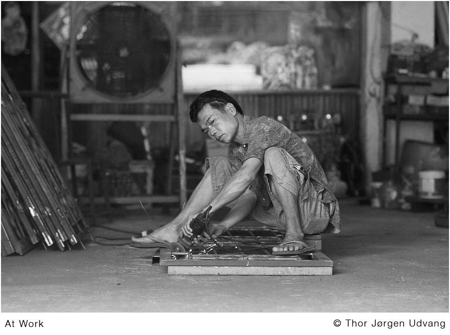 At Work by Jorgen Udvang in Jorgen Udvang