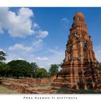 Phra Nakhon Si Ayutthaya by Jorgen Udvang