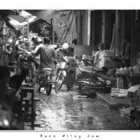 Back Alley Jam by Jorgen Udvang in Vietnam on film