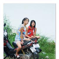 Biker Girls by Jorgen Udvang in Jorgen Udvang
