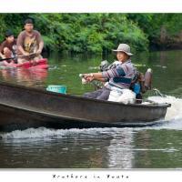 Brothers In Boats by Jorgen Udvang in Jorgen Udvang