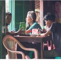 Cafe Life in Myeik by Jorgen Udvang in Jorgen Udvang