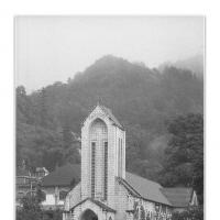 Church Of Sapa by Jorgen Udvang in Vietnam on film