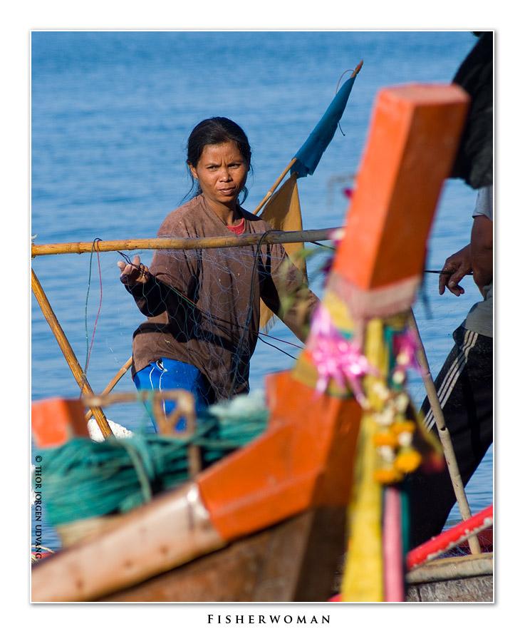 Fisherwoman by Jorgen Udvang in Jorgen Udvang