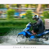 Flood Express by Jorgen Udvang in Jorgen Udvang