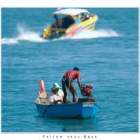 Follow That Boat by Jorgen Udvang