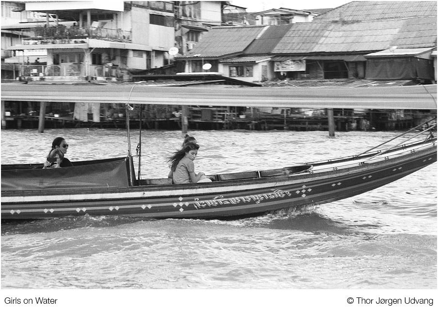Girls On Water by Jorgen Udvang in Jorgen Udvang