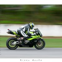 Green Honda by Jorgen Udvang