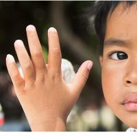 Hand and Face by Jorgen Udvang in Jorgen Udvang