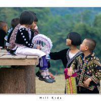 Hill Kids by Jorgen Udvang