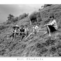 Hill Shepherds by Jorgen Udvang in Vietnam on film