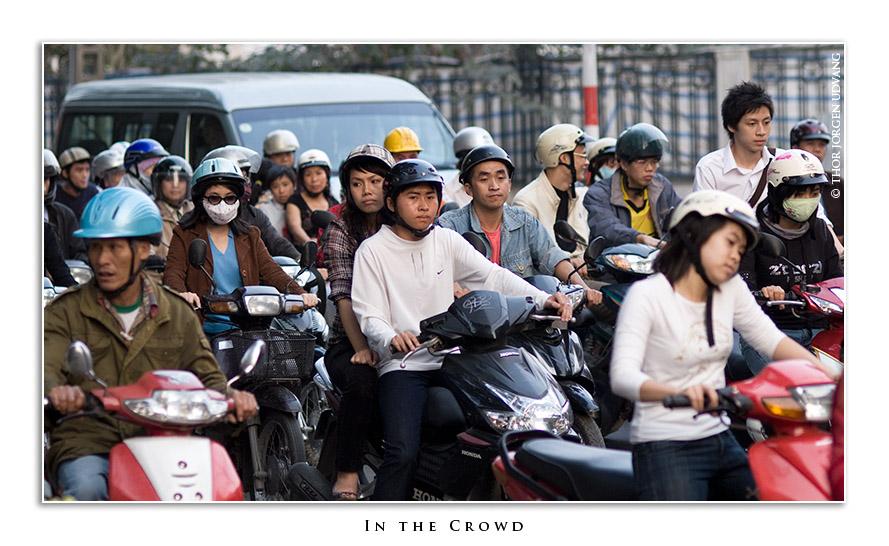 In The Crowd by Jorgen Udvang in Jorgen Udvang