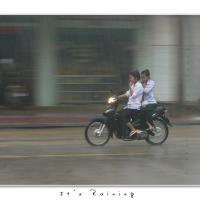It's Raining by Jorgen Udvang