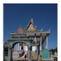 Khmer Through The Gate by Jorgen Udvang