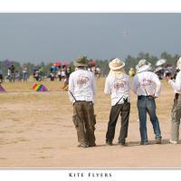 Kite Flyers by Jorgen Udvang