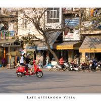 Late Afternoon Vespa by Jorgen Udvang in Jorgen Udvang