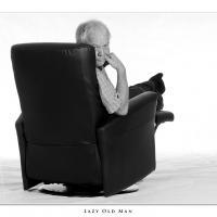 Lazy Old Man by Jorgen Udvang in Jorgen Udvang