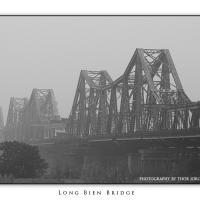 Long Bien Bridge by Jorgen Udvang