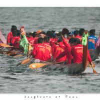 Longboats At Dawn by Jorgen Udvang