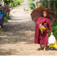 Monk In Myeik by Jorgen Udvang