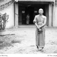 Monk In The Morning by Jorgen Udvang