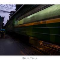 Railway Through Hanoi by Jorgen Udvang