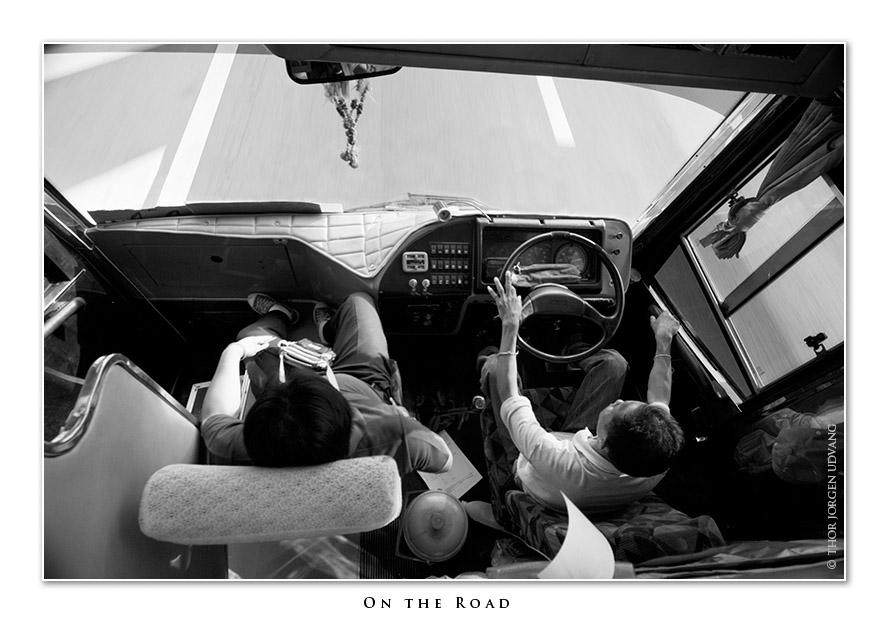 On The Road by Jorgen Udvang in Jorgen Udvang