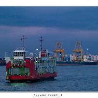 Penang Ferry by Jorgen Udvang