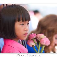 Pink Flowers by Jorgen Udvang