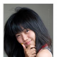 Portrait Of A Girl by Jorgen Udvang