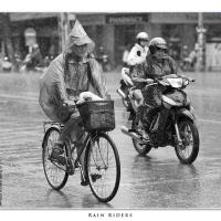 Rain Riders by Jorgen Udvang