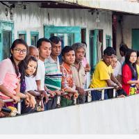 Rakhine Passengers by Jorgen Udvang