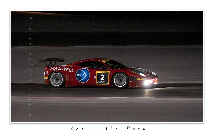 Red In The Dark by Jorgen Udvang in Jorgen Udvang